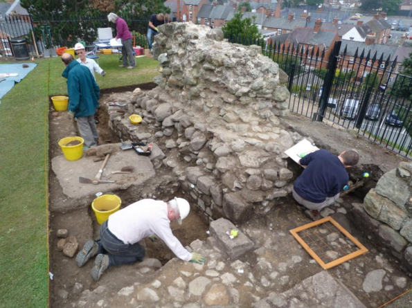 Oswestry Castle Research Project